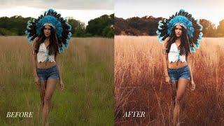 Photoshop CC Tutorial : Outdoor Portrait Editing