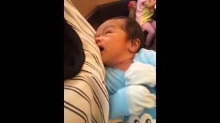 CUTE BABY LOOKING FOR BREAST MILK