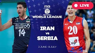 Iran v Serbia - Group 1: 2017 FIVB Volleyball World League