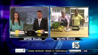 Amanda Live at Ktichen Capers with back-to-school cooking tips