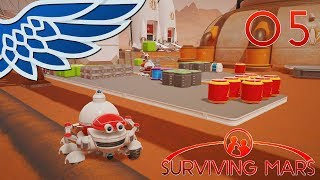 SURVIVING MARS | ROVER SIMULATOR PART 5 - ELON MUSK SPACEX Let