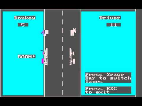 DOS Game: Donkey (1981)