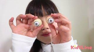 目が取れちゃったー!!! ラジコンカー後編 こうくんねみちゃん eye pops out!!!