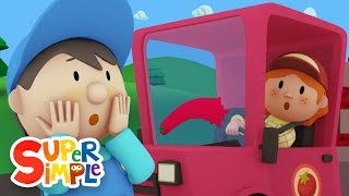 Betty's Tomato Truck | Carl's Car Wash Ep.1 | Cartoon for kids