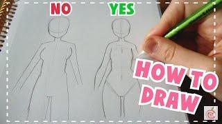 ☆ HOW TO DRAW    Female Body Tutorial ☆