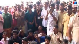 നിലപാടിലുറച്ച് ഇരുകൂട്ടരും: വിമാനത്താവളത്തിൽ നാടകീയ രംഗങ്ങൾ | Nedumbassery - Trupti Desai - Protest