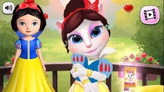 My Talking Angela Vs. Ava the 3D Doll iPad Gameplay HD