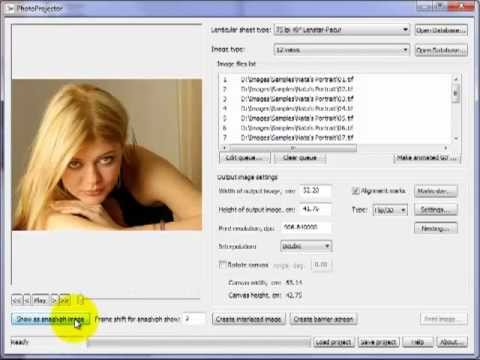 Xxx Mp4 Using PhotoProjector Interlacing Program For Making 3D Lenticular Photo 3gp Sex