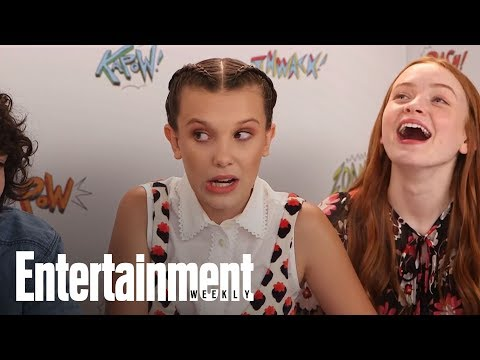 Xxx Mp4 Stranger Things Millie Bobby Brown Teases Big Climax For Eleven SDCC 2017 Entertainment Weekly 3gp Sex