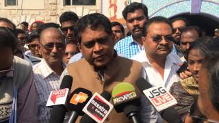 JSGLIVE.IN - Jharsuguda MLA Naba Kishore Das Interviews for Dharna against Railway Authorities