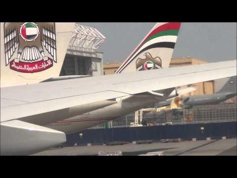 Ultra Long Haul Experience Etihad Airways Abu Dhabi to Los Angeles PART 1 2