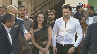 WATCH VIDEO: Sunny Leon Steals Limelight With Hubby Daniel Weber At The Grand Event