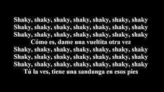 Daddy Yankee   shaky shaky  (LETRAS)
