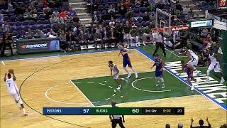Quarter 3 One Box Video :Bucks Vs. Pistons, 10/12/2017