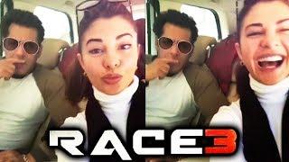 RACE 3: Salman Khan And Jacqueline FUN ROAD TRIP To Sonamarg Kashmir
