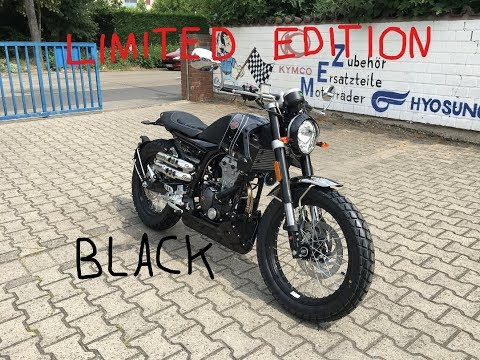 Mondial HPS Hipster 125 Black Edition Edizione Limitata Finally here Walkaround Details