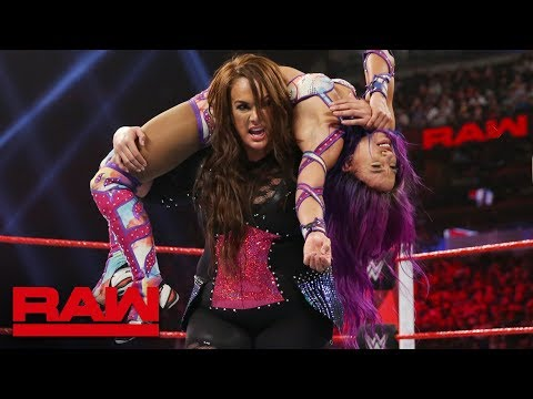 Xxx Mp4 Sasha Banks Vs Nia Jax Winner Challenges Rousey For The Raw Women S Title Raw Jan 7 2019 3gp Sex