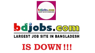 Bdjobs Website is Down !!!