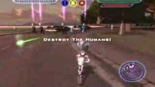 Destroy All Humans - ps2 - Mission 19 The Lone Gunman
