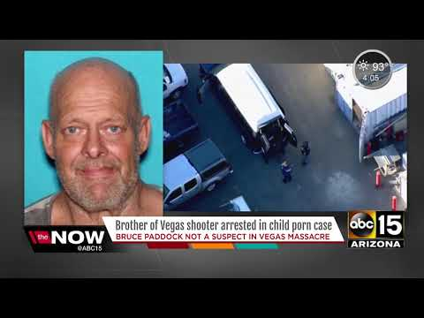 Brother of Las Vegas shooter arrested for child porn