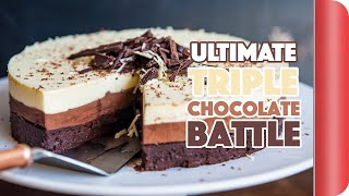 THE ULTIMATE *TRIPLE* CHOCOLATE BATTLE