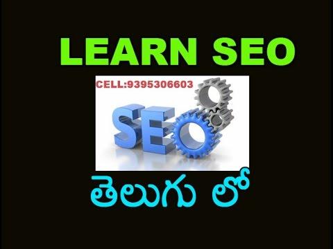 Search engine Marketing (SEO) In telugu Part 2