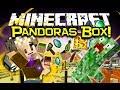 Minecraft PANDORAS BOX MOD Spotlight! Random Madness! (Minecraft Mod Showcase)