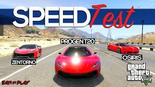 GTA V: Progen T20 X Osíris X Zentorno: Qual é o Mais Rápido?!