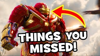 AVENGERS INFINITY WAR Official Trailer 2 - Easter Eggs, Infinity Gauntlet & Breakdown