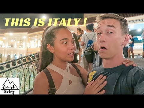 CRAZIEST Mall In PHILIPPINES Welcome to ITALY 🇵🇭