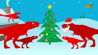 Christmas and New Year with Dinosaurs - Cartoon Movie | Funny Dinosaurs Cartoons for children