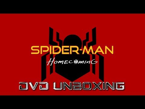 Xxx Mp4 Spider Man Homecoming DVD Unboxing Review 3gp Sex