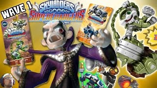 WAVE 1 Skylanders Superchargers! Steel Plated Smash Hit, Frightful Fiesta, High Volt + More /Trailer