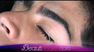 Beauty Tips By Beautifinder.com *** Waxing Men's Eyebrows ***