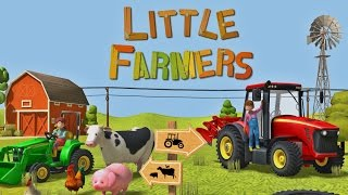 Little Farmers: Tractors, Harvesters & Farm Animals - Top App for Kids