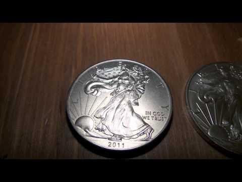 Detecting Fake Silver Eagles