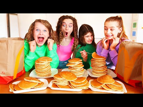 WHO CAN EAT THE MOST PANCAKES w The Norris Nuts