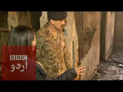 Inside the APS massacre site - Exclusive footage.