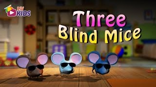 Three Blind Mice with Lyrics | LIV Kids Nursery Rhymes and Songs | HD