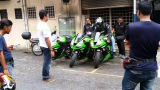 Kawasaki ZX6R 636 After Bazzaz ZFi - Motodynamics Technology Malaysia