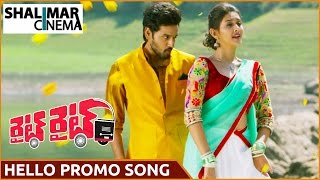 Hello Hello Video Song Trailer || Right Right Movie Song || Sumanth Ashwin, Pooja Jhaveri