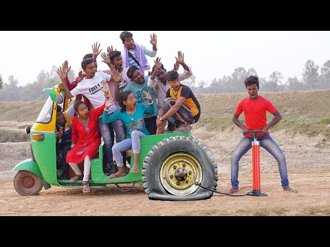 Must Watch New Funny Video 2021 Top New Comedy Video 2021 Try To Not Laugh Episode179 By MY FAMILY