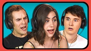 YOUTUBERS REACT TO 90s INTERNET COMMERCIALS