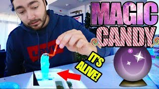 "Trying out ""MAGIC RIBBON CANDY""! + GIVEAWAY"