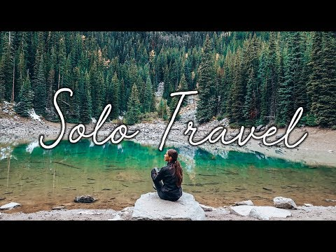 i solo travelled to banff canada and it was amazing