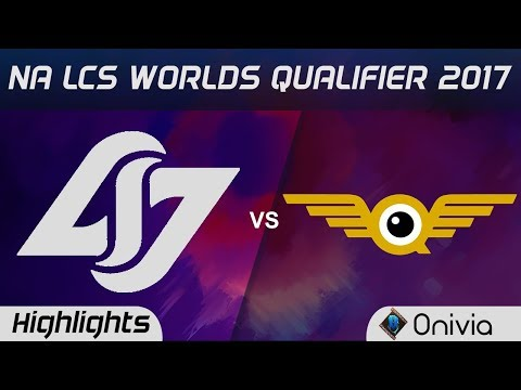 Xxx Mp4 CLG Vs FLY Highlights Game 2 NA LCS Worlds Qualifier 2017 Counter Logic Gaming Vs FlyQuest By Onivi 3gp Sex