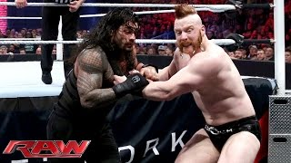 Roman Reigns vs. Sheamus - WWE World Heavyweight Championship Match: Raw, November 30, 2015
