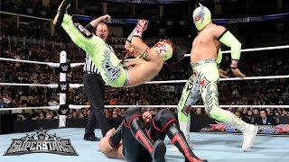 The Lucha Dragons vs. The Ascension: WWE Superstars, March 13, 2015
