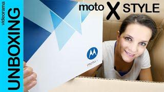 Motorola Moto X Style unboxing en español