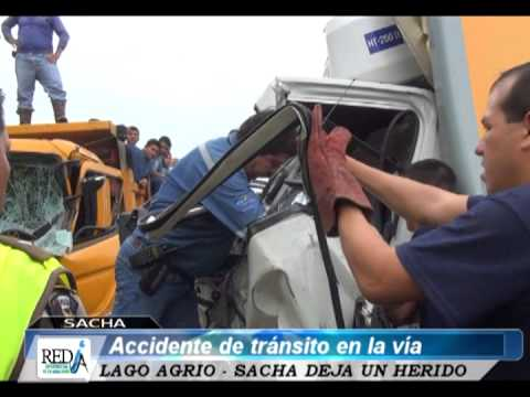ACCIDENTE DE TRANSITO SECTOR VALLADOLID